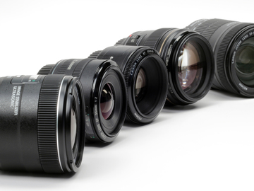 Rent: Canon Prime Lens Kit (4 lenses, 24, 35, 50, 85mm)