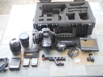 Rent: Gh4 all inclusive grab n'go videographer kit! IT'S ALL HERE!