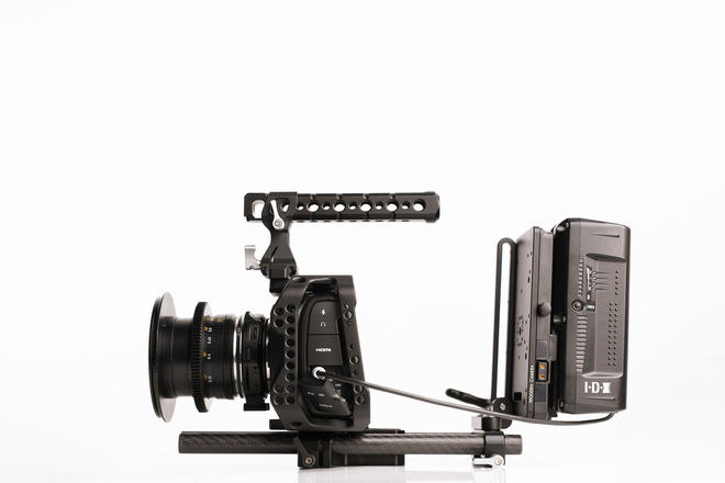 Blackmagic Pocket 4K Camera with SSDs and VMount Batteries