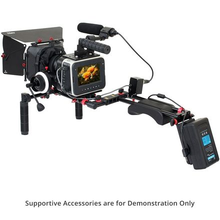 FILMCITY Shoulder Rig Kit for Blackmagic Cinema Camera