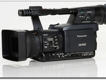 Rent: Panasonic AG-HPX170 P2HD Camcorder w/ (2) 64GB P2 cards