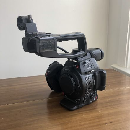 Rent a Canon EOS C100 Mark II Body (w/ batteries, SDs, hard case