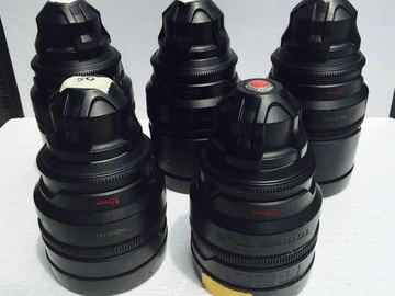 Rent: Red pro prime lens set