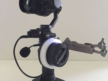 Rent: DJI Osmo X5 Gimbal Kit with Follow Focus wheel