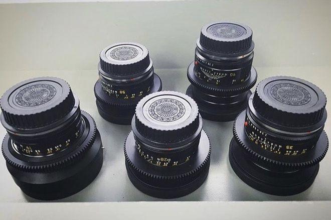 Leica R - 7 Lens Prime Set - Cinemod - Vintage