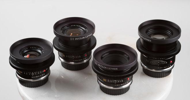 Leica R - 5 Lens Prime Set - Duclos Cinemod - Vintage