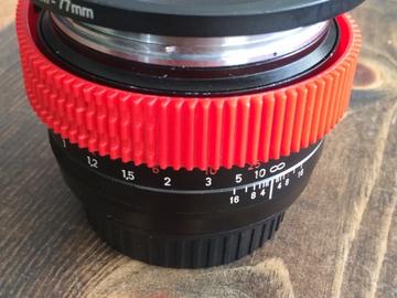 Rent: Zeiss 50mm ZE F1.4 Lens Canon EF Mount w/ Step Up and Gear