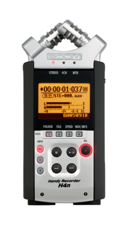 Zoom H4n 4-Channel Handy Recorder