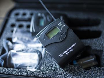 (2) Sennheiser Microphone/Transmitter Packages