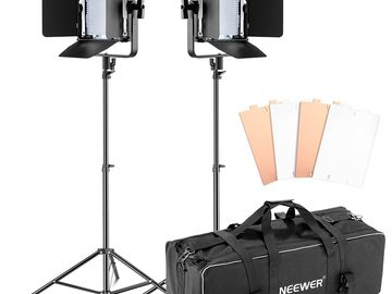 Neewer Double Dimmable Ultra High Power 600 LED Kit