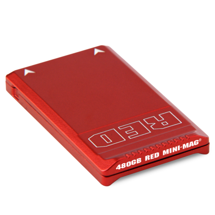 (2) RED Mini-mags, 480GB and USB3 Reader