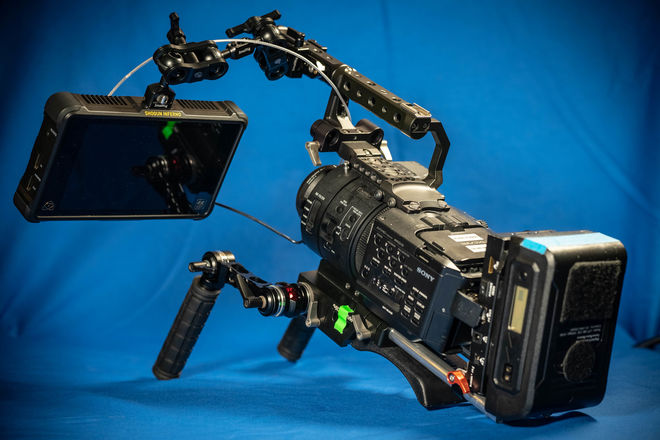 Sony FS700 4k Package w/ Shogun Inferno, 1TB Media, Batts