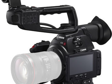Canon EOS C100 Mark II w/SD Cards + Batteries