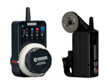 CINEGEARS Single Axis Wireless Follow Focus Express Kit