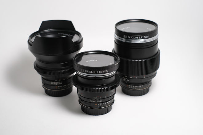 Zeiss Zf.2 Lens Package (15mm, 50mm, 135 mm)