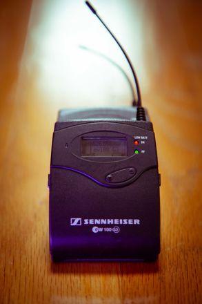 Sennheiser ew 100 ENG G3 Wireless Kit w/ Tascam DR-70D