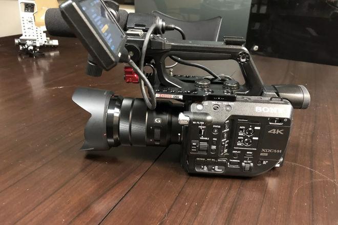 Sony PXW-FS5 with 18-105 kit  Lens  FS5 Super 35 Camera