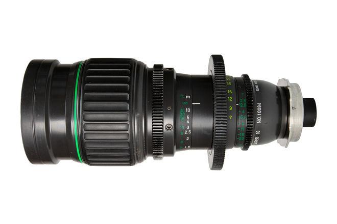 Canon 7-63mm T2.6 Zoom Lens (Super 16)