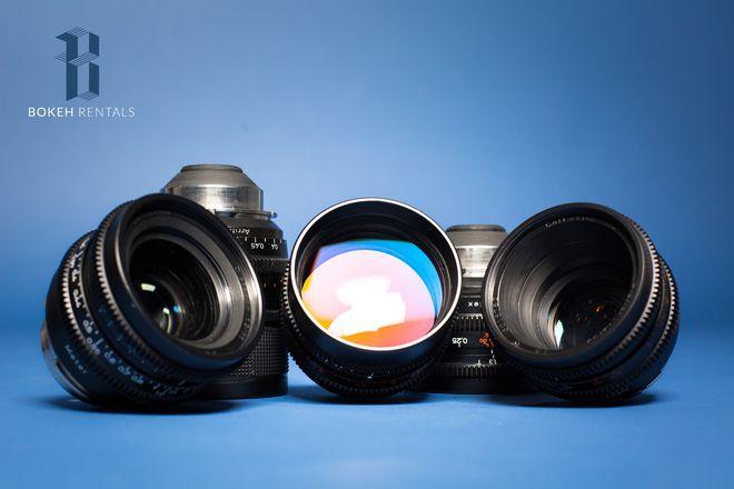 Zeiss Super Speeds T1.3 - 18, 25, 35, 50, & 85mm