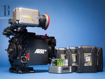 "Alexa Mini BASIC Package - (4:3 & RAW) w/ 5.5"" Monitor & FF5"