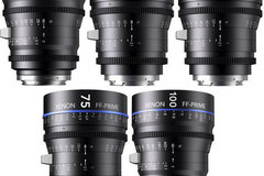 Rent: XENON FULL FRAME CINE PRIMES 5 Lens Kit