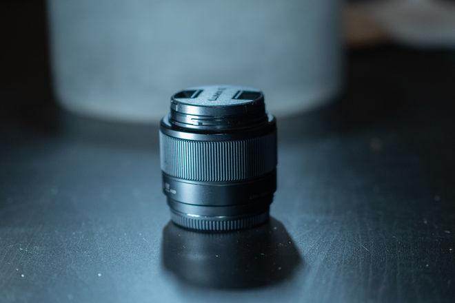 Panasonic Lumix G X 25mm f/1.7. Lens
