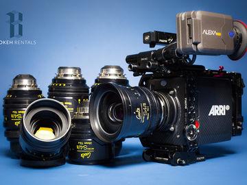 ARRI Alexa Mini w/ Cooke Mini S4/i 6x Lens Set!