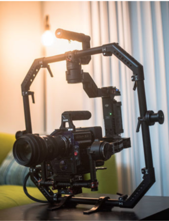 DJI Ronin with Ready Rig GS + ProArms and Operator