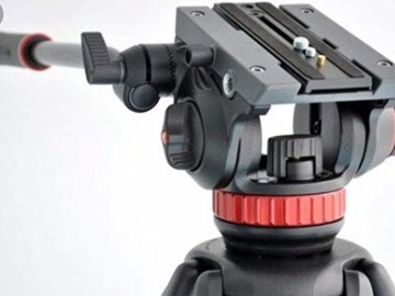 Rent: Manfrotto 502 AH + 546 Tripod
