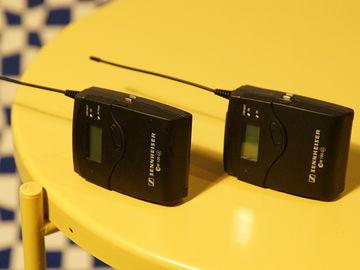 *RECHARGEABLE* Sennheiser ew100 G3 Wireless Lav Kit