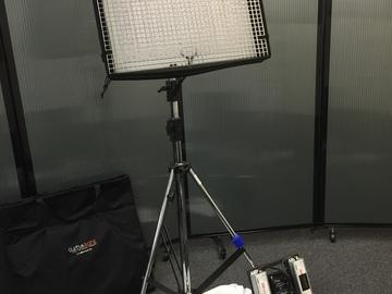 Rent: CUSH Light 2 BI-color w/ Light Stand and Sand Bag