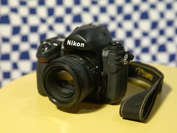 FILM CAMERA: Nikon F6 with Nikkor 50mm 1/1.4 Lens