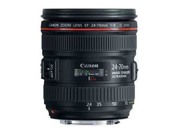 Rent: Canon 24-70mm Lens f/4 IS Lens