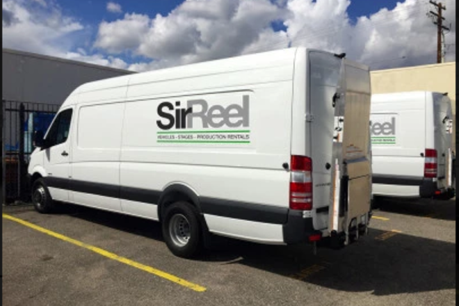 2 Ton Grip Van Package w/ liftgate and Carts