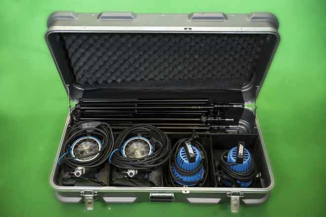 ARRI 4 Light Kit (2x750w, 2x650w)
