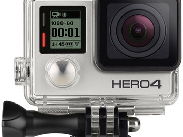 Rent: GoPro HERO4 Silver Dual Battery, Charger, and Mount Kit