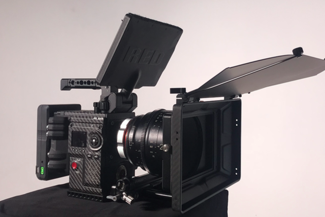 RED Epic-W Helium 8K S35 Complete handheld Kit
