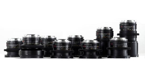 Cine-modded Leica-R lenses (EF mount)