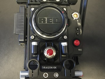 Rent: Red Epic Dragon 6K Studio Kit