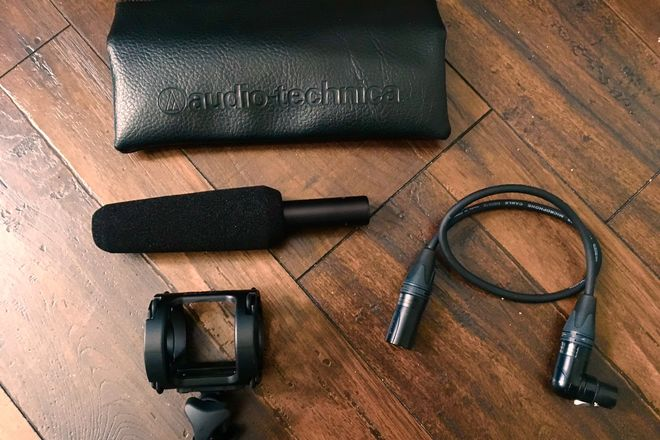 Audio-Technica AT875R Shotgun Microphone (WITH KIT)