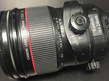 Rent: Canon 24mm 3.5 TS-E Version 2