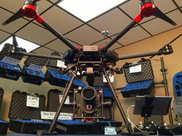 Rent: Red Raven+DJI Matrice 600+Ronin MX+w Pilots/Operators