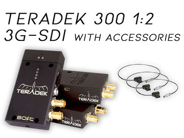 Teradek Bolt 300 2:1 3G-SDI Video Transceiver Set