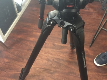 Rent: Manfrotto 504HD Head and 536 Legs