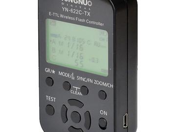 Rent: Yongnuo YN622 Wireless ETTL Flash Trigger Rx Tx (1 of 2)