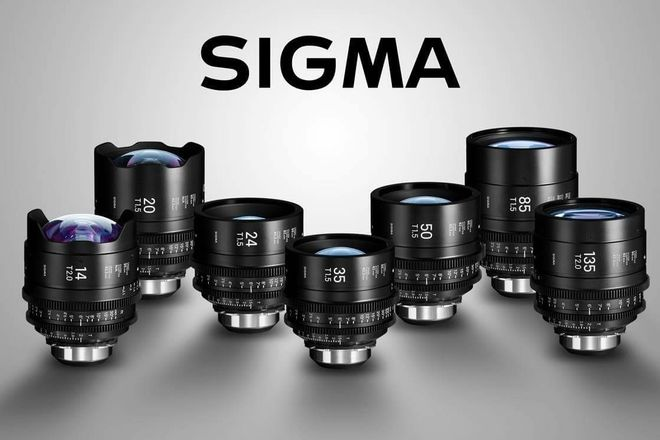 Sigma Cine FF High Speed Primes PL - Any 3 Lenses