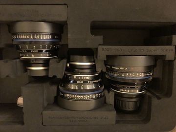 Zeiss CP.2 EF Super Speeds Set