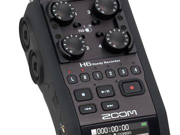 Rent: Zoom H6 Portable Audio Recorder