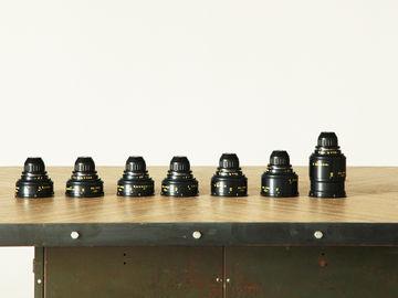 TLS Rehoused COOKE SPEED PANCHRO // 7 Lens Set