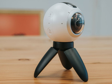 Rent: Samsung Gear360 + 128gb SD Card